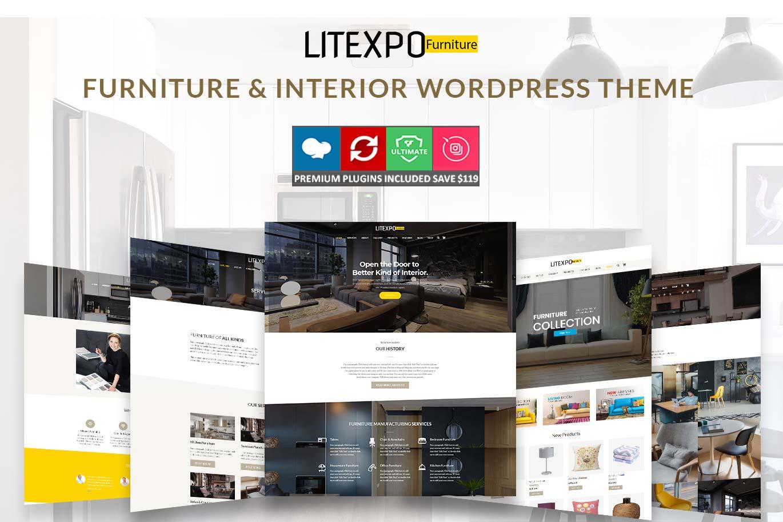 Furniture & Interior WordPress Theme